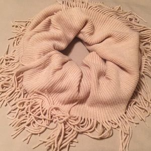 Accessories - Cream, Knitted Tube Scarf